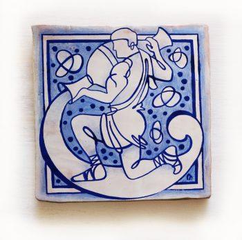 Acuario-signos-del-zodiaco-horoscopo-cerámica-valenciana-moderna-ppmiralles-venta-on-line