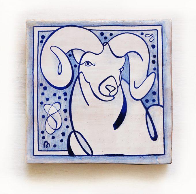 Aries-signos-del-zodiaco-horoscopo-cerámica-valenciana-moderna-ppmiralles-venta-on-line