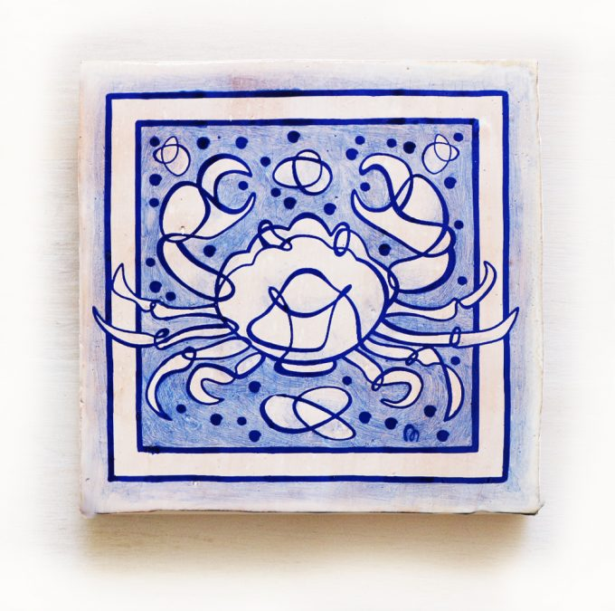 Cancer-signos-del-zodiaco-horoscopo-cerámica-valenciana-moderna-ppmiralles-venta-on-line