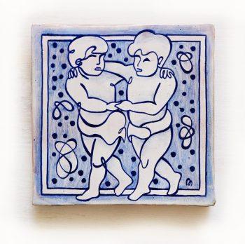 Geminis-signos-del-zodiaco-horoscopo-cerámica-valenciana-moderna-ppmiralles-venta-on-line