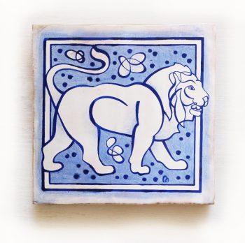 Leo-signos-del-zodiaco-horoscopo-cerámica-valenciana-moderna-ppmiralles-venta-on-line