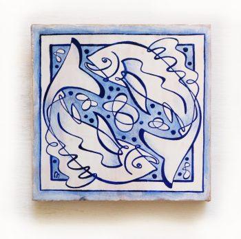 Piscis-signos-del-zodiaco-horoscopo-cerámica-valenciana-moderna-ppmiralles-venta-on-line