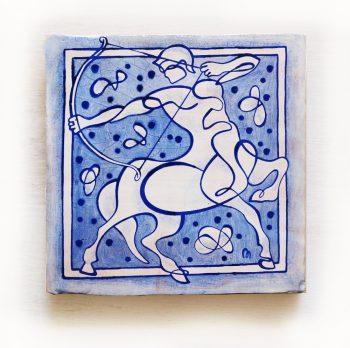 Sagitario-signos-del-zodiaco-horoscopo-cerámica-valenciana-moderna-ppmiralles-venta-on-line
