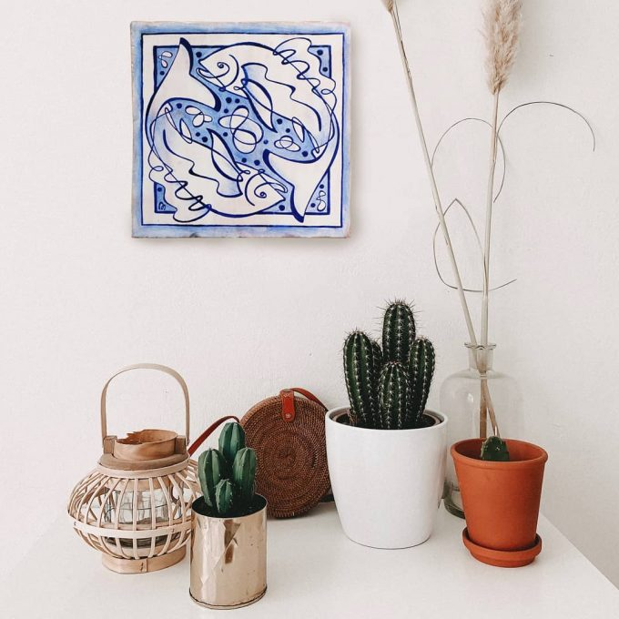 azulejo-tiles-taulell-piscis-horoscopo-zodiaco-cerámica-ppmiralles