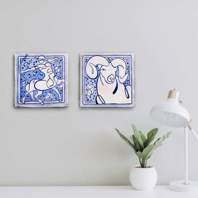 sagitario-aries-compatibles-zodiaco-ppmiralles-ceramica-tradicional-valenciana-hecho-a-mano